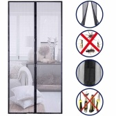 Hands Free Magnetic Screen Door Mesh Curtain Keeps Bugs Out Full Frame Magnets with Magic Tape Drill Free Install Auto Close Kid Pet Friendly Fits Doors up to 39 x 83 Inches