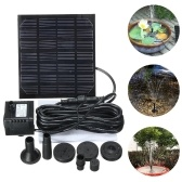 7V 1.5W Solar Water Pump Fountain Garden Floating Plants Watering Power Fountains Pool Home Garden Fish Pond Waterpump