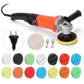 1200W 220V Adjustable Speed Car Electric Polisher Waxing Machine Automobile Furniture Polishing Tool