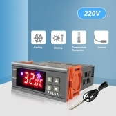 7016A Digital Temperature Switch Controller 30A High-Power ℃ ℉ Display Heating Cooling NTC Sensor Temp Control Thermostat for Freezer Fridge Hatching