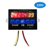 W1411 Intelligent Digital Temperature Controller NTC Sensor Temp Control Thermostat  for Freezer Fridge Hatching
