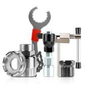 WEST BIKING Наборы инструментов для ремонта велосипедов, велосипедные цепи, режущий кронштейн, приспособление для снятия маховика, велосипедный ключ