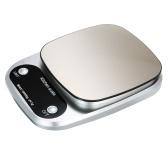 Высокоточные цифровые весы с водонепроницаемой поверхностью Портативные кухонные весы 10 кг / 1 г для выпечки