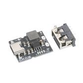 KKmoon 5V 2A Плата для зарядки литиевой батареи Тип-C Вход с гнездовым модулем зарядки Тип-C Модуль зарядки для электронных DIY