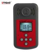 UYIGAO nuovissimo portatile tenuto in mano automobilistico Mini Oxygen Meter ad alta precisione O2 gas Tester Monitor rivelatore con Display LCD Suono e Luce allarme