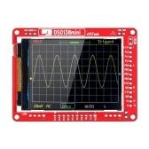 JYE TechDSO138ミニデジタルオシロスコープDIYキットSMD部品事前はんだ付けされた電子学習セット1MSa / s 0-200KHz、透明ケース付き