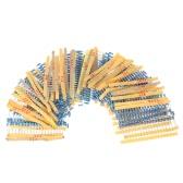 1000pcs 1 / 2W 50 Valores de 0,1 ohmios a 3.6M ohm Resistencias de película metálica Surtido Kit Componentes Electrónicos