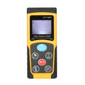 100m Portable Handheld Digital Laser Distance Meter High Precision Range Finder  Area Volume Measurement Data Storage with Backlight