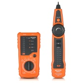 Meterk Multi-funcional RJ11 RJ45 Cable Tester Buscador de linha de mão Wire Tracker Cable Check Wire Instrumento de medição para manutenção de rede Collation