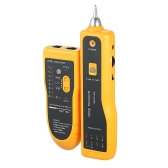 Multi-purpose Communication Network Wire Tracker Handheld Line Finder Multifunctional Wire Tracker Tester RJ45 RJ11 Network Cable Tester with Storage Pouch