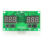 Mini Signal Generator Module Stepper Motor Driver with Adjustable PWM Pulse Frequency Duty Cycle 1%~99% 6HZ~100KHZ