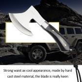 Wood Handle Sharp Survival tomahawk axes axe outdoor machetes steel tactical axe camping hand fire ax