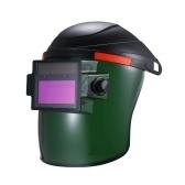 Solar Power Auto-Darkening Welding Helmet Automatic Darkening Weld Mask Shield Protection Cap With Lens Adjustable He-adband