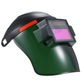 Casco per saldatura auto-oscurante a energia solare Casco per protezione oscurante automatico della maschera di saldatura con lente regolabile