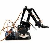 Ручка управления DIY Робот Ручной механический рычаг Роботизированный набор клещей