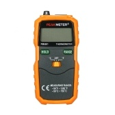 PEAKMETER PM6501 LCD Display Wireless K Type Temperature Meter Thermocouple W/Data Hold/Logging Digital Thermometer