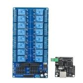 Modulo di controllo Ethernet LAN WAN Rete WEB Server Porta RJ45 16 canali Relé LJ