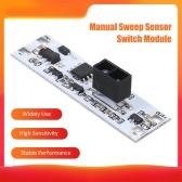 Módulo de interruptor del sensor de barrido manual Armario Sensor de exploración de corta distancia Componentes electrónicos Módulo de placa de sensor