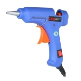 20W Hot Melt Glue Gun Hot Melt Glue Machine Multifunctional Industrial Household DIY Glue Gun with Switch Button Blue HJ005