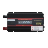 Intelligent Solar Power Car Inverter Modified Sinewave Converter with LCD Display