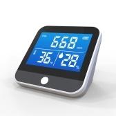DM306C Портативный монитор температуры и влажности CO2 Многофункциональный инфракрасный детектор NDIR Настольный Дом Дом В помещении На открытом воздухе Высокая точность Эффективные инструменты обнаружения Анализатор качества воздуха