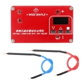 Portable Transistor Mini Lithium Battery Spot Welding Machine 3 Working Modes Adjustable Suitable for 0.1-0.12mm Nickel Sheet