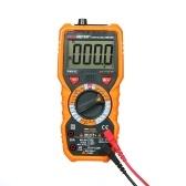 PEAKMETER PM18C True RMS Multifunctional Digital Multimeter Measuring AC/DC Voltage Current Resistance Capacitance Frequency Temperature hFE NCV Live Line Tester