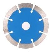 114 * 1.8 * 20 mm de corte en seco segmentada de diamante Hoja de sierra con orificios de refrigeración 20 mm Diámetro interior de piedra de corte para amoladora angular Arquitecto Arquitectura Ingeniería