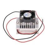 システムヒートシンク伝導モジュール+ファン+ TEC1-12706冷却DIYキット熱電ペルチェクーラー冷凍