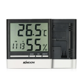 KKmoon LCD ℃ / ℉ Digital Thermometer Hygrometer Temperature Humidity Meter Alarm Clock