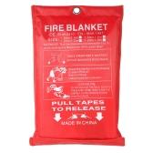 1M * 1M Cobertura de fogo de fibra de vidro para sobrevivência de emergência Proteção contra incêndios Proteção de proteção