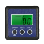 Mini Digital Level Meter Protractor Inclinômetro Bevel Box Angle Gauge Finder com 4 x 90 Degree Range + Magnetic Base