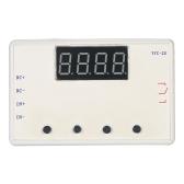 Commutateur réglable de commande de minuterie de retard de module de relais de retard de 5A LED avec le cas