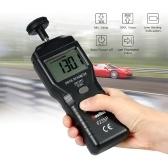 RuoShui Digital Tachometer Handheld Contact Motor Tachometer