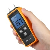 RZ Handheld Mini medidor de humedad Digital LCD Lumber Damp Meter