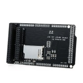 Carte d'extension CTE TFT LCD / carte SD pour support de module Arduino DUE, version LCD 32 broches