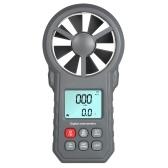 Профессиональный ЖК-Цифровой Анемометр Измеритель Скорости Ветра Скорость / Скорость Воздуха / Температура Воздуха Инструмент Тестирования Скорости Ветра с Фонариком