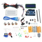 Arduino UNO R3 Small Starter Project Kit LCD LED Ultrasonic for Arduino Beginner