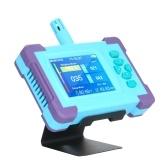 PM1.0 / PM2.5 / PM10 Монитор качества воздуха Цифровой газоанализатор Аккумуляторная батарея Портативный высокоточный датчик Воздушный детектор Домашний светодиодный дисплей Температура и влажность Испытательное оборудование