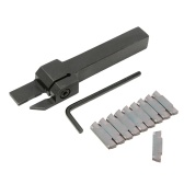 MGEHR1212-3 Lathe Cut-Off Grooving Parting Tool Holder + MGMN300 Insert Blades + Wrench