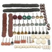 347Pcs Set di kit di accessori per mola rotante per levigatura a smerigliatura
