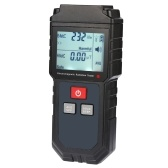 Portable Handheld Digital LCD Electromagnetic Radiation Tester Electric Field Magnetic Field Dosimeter Detector with Sound and Light Alarm