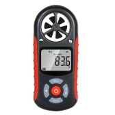 8 in 1 Handheld Digital Anemometer Wind Speed/Wind Chill/Temperature/Humidity/Heat Index/Dew Point/Barometric Pressure/Altitude Meter Digital Meteorograph with LCD Backlight