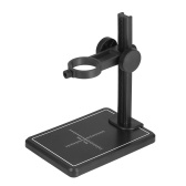 KKmoon Mini Digital Microscope Stand Magnifier Camera Up and Down Adjustable Stand Holder Universal Support Bracket Large Base with Scales for Digital Microscope