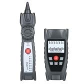 KKmoon Wire Tracker Портативный многофункциональный тестер кабеля RJ11 RJ45 Телефон и сеть Поиск линии с наушниками для обслуживания сети
