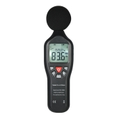 LCD Digital Sound Level Meter 30-130dBA Noise Measuring Instrument Decibel Monitoring Tester with Data Logging Function