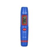 Tipo de caneta Mini termômetro infravermelho portátil sem contato digital IR medição de temperatura LCD Display ferramentas de medição