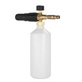 Adjustable Foam Lance 1L Bottle Snow Foam Nozzle Injector Soap Foamer for Nilfisk Pressure Car Washer