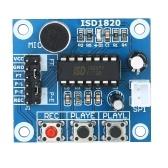 Módulo da placa da reprodução de som do módulo de gravação de voz ISD1820 de 3pcs
