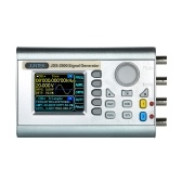 JUNTEK Contatore digitale di segnale DDS a doppio canale ad alta precisione digitale Schermo da 2,4 pollici Display a forma di onda arbitraria Generatore di segnale a impulsi 0,01uHz-15MHz Misuratore di frequenza di funzionamento 266MSa / s